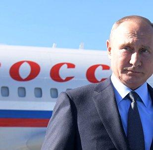 Russian President Vladimir Putin Ariives at Instanbul Summit. 27.10.2018