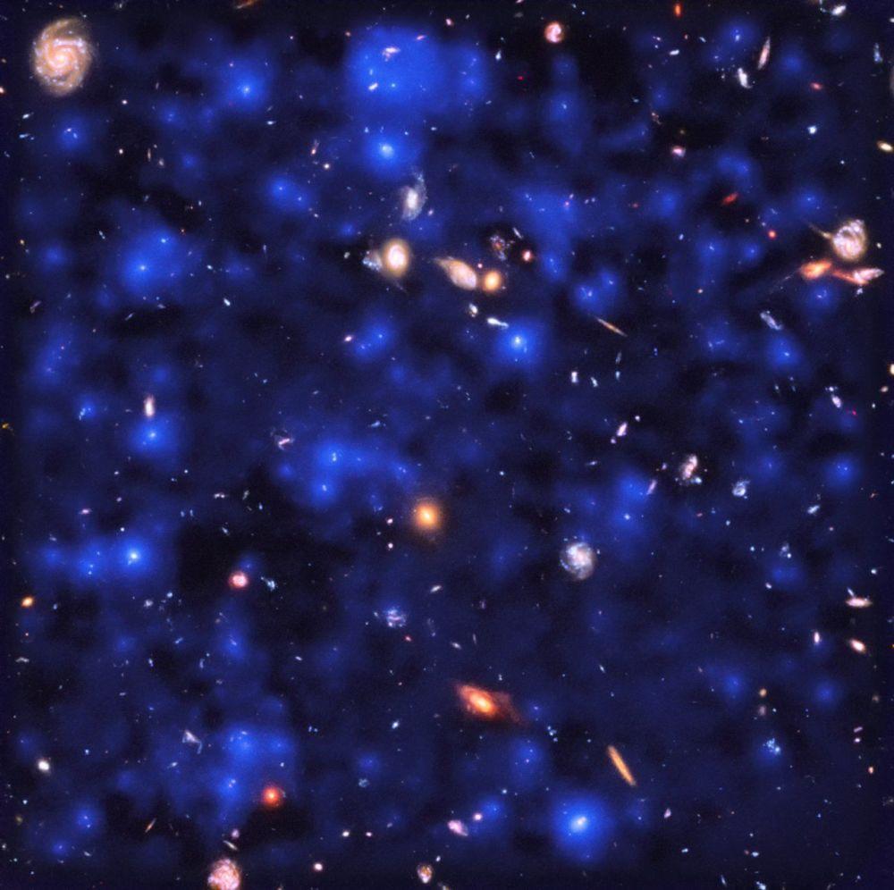 Primeiras galáxias do Universo cercadas por casulos de gás