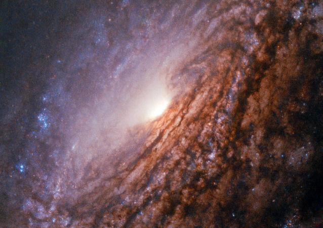 Galáxia espiral NGC 5033, localizada a 40 milhões de anos-luz da constelação Canes Venatici (imagem referencial)