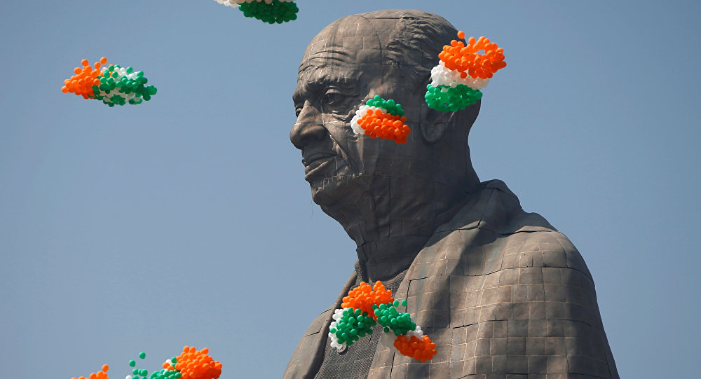 Estátua da Unidade na Índia