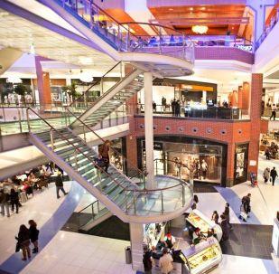 Shopping em Moscou (imagem referencial)