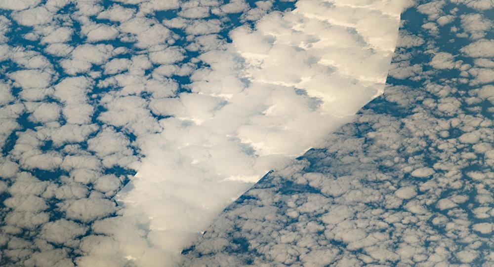 Iceberg B-15T perto da Antártida