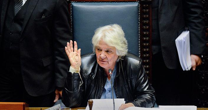 Lucia Topolansky, vice-presidente do Uruguai