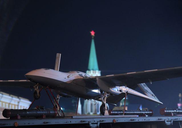 Drone russo Korsar (foto de arquivo)