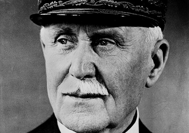 O marechal Philippe Pétain.