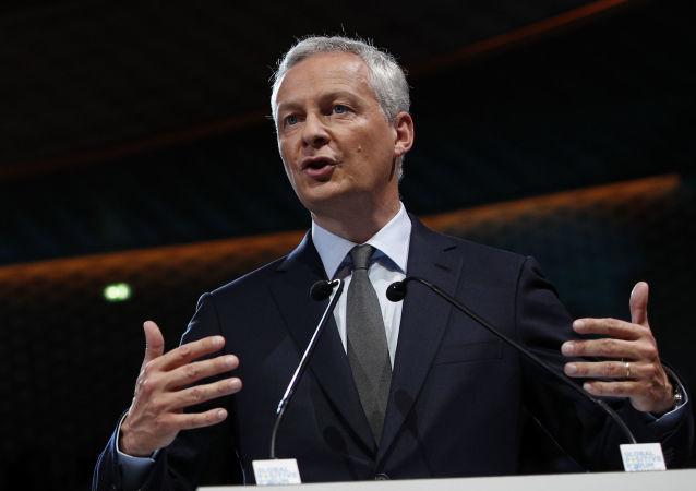 Ministro da Economia e das Finanças da França, Bruno Le Maire, 1 de setembro de 2017