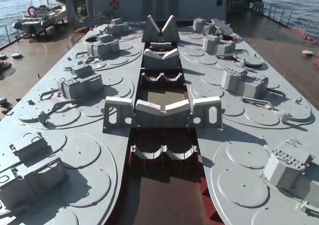 Sistema de defesa antiaérea S-300F (foto de arquivo)