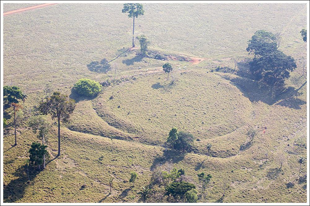 Geoglifo tombado pelo Iphan no Sítio Arqueológico Jacó Sá, em Rio Branco