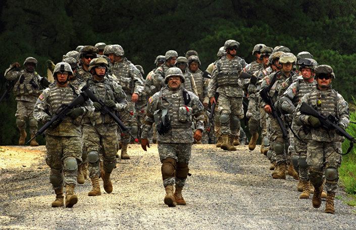 Soldados do Exército dos EUA (arquivo)