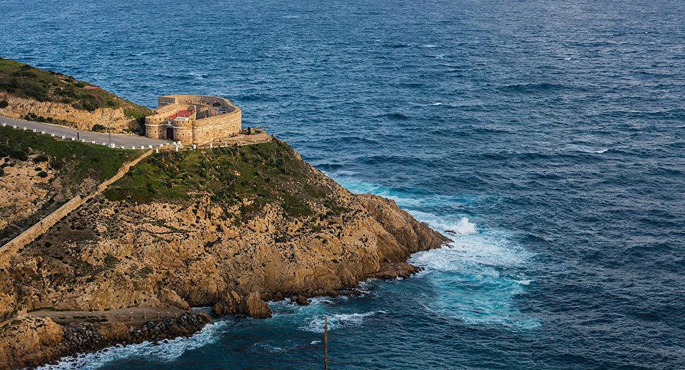 Porto espanhol de Ceuta (foto de arquivo)
