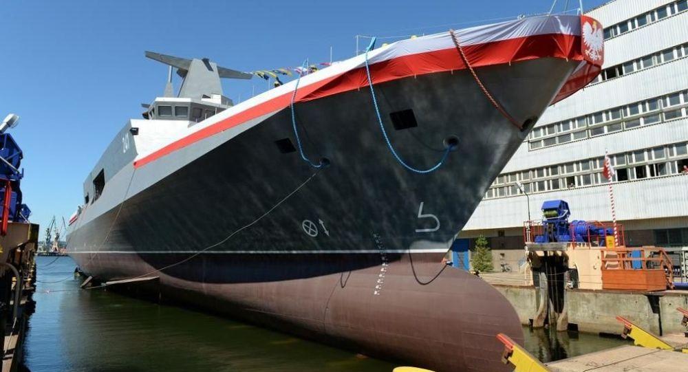 Navio polonês Slazak