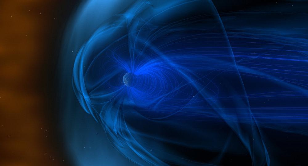 Enorme campo magnético ao redor da Terra