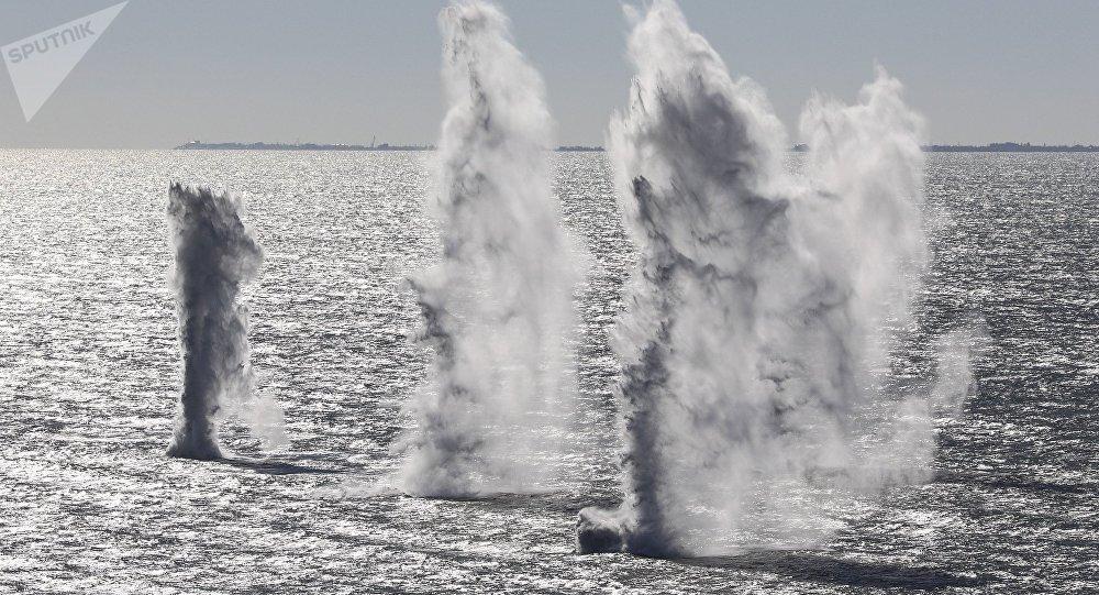 Manobras ucranianas no mar de Azov