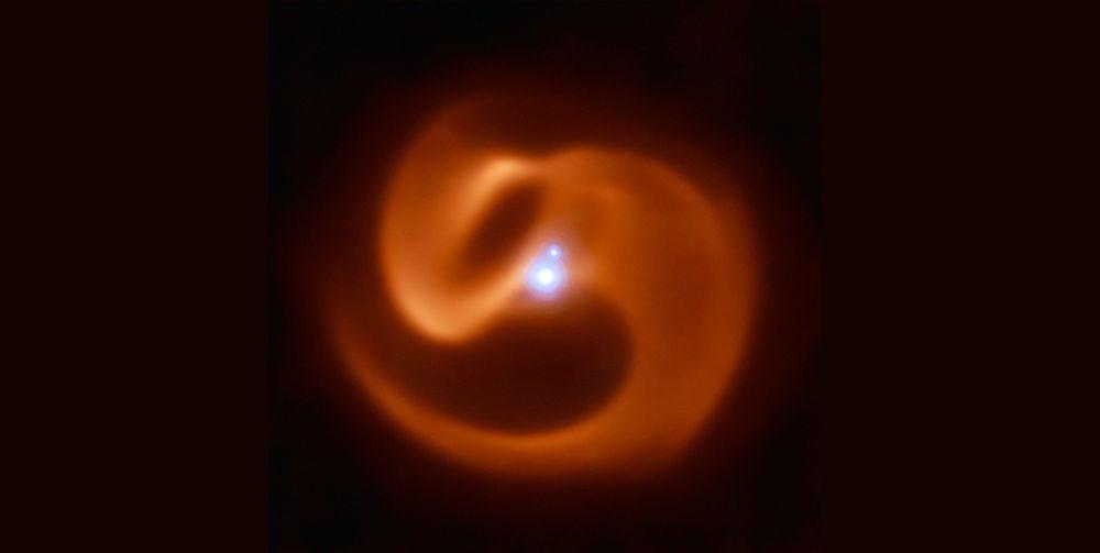 Nebulosa Apep, situada na constelação de Norma, no hemisfério celestial sul