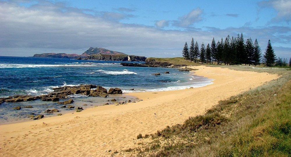 A ilha de Norfolk, Austrália