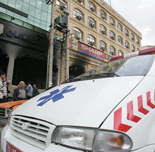 Ambulância iraniana