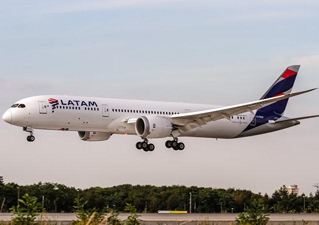 Avião da LATAM Airlines (imagem de arquivo)