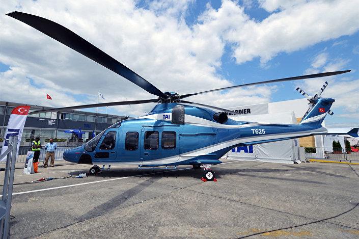 Helicóptero turco T625 Gokbey