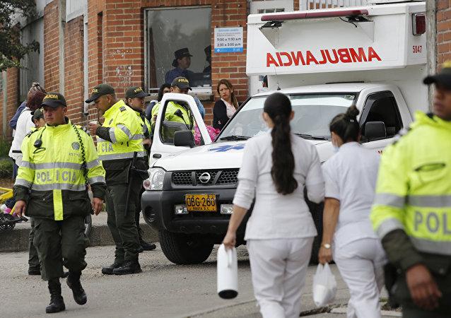 Polícia da Colômbia (foto de arquivo)