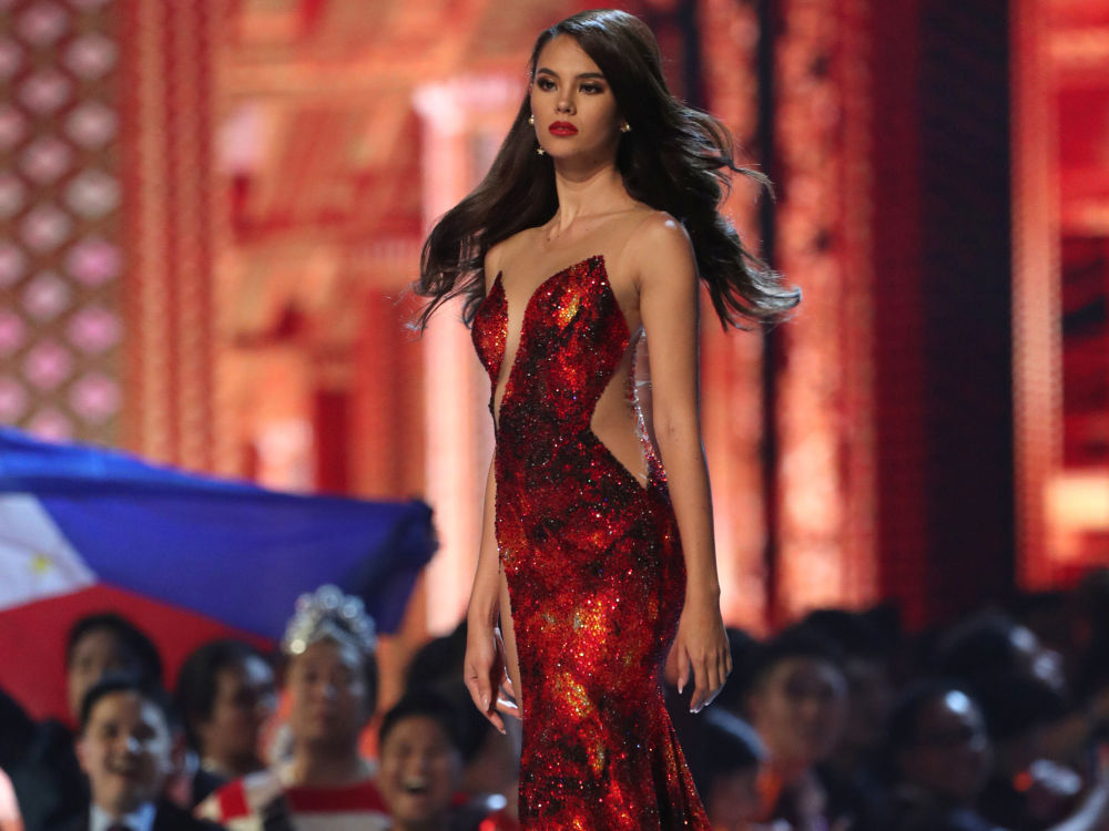 Catriona Gray, filipina vencedora do concurso Miss Universo 2018
