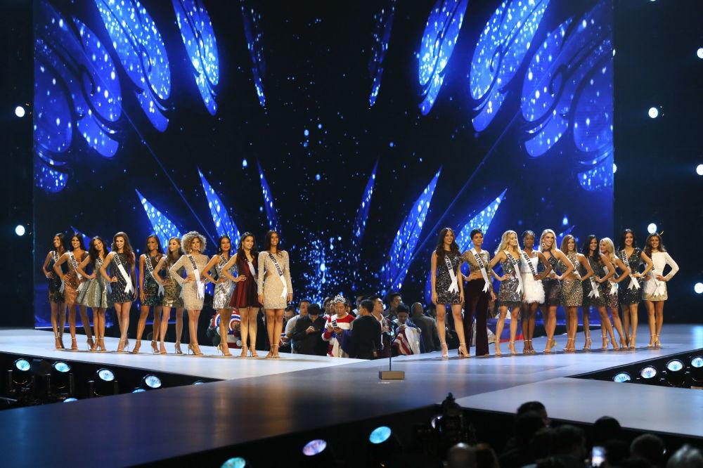 Finalistas do concurso Miss Universo 2018 em Bangkok