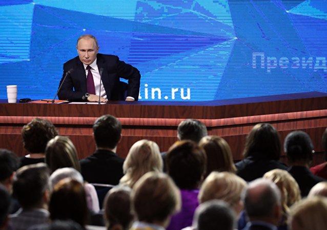 Coletiva de imprensa anual de Vladimir Putin, 20 de dezembro de 2018