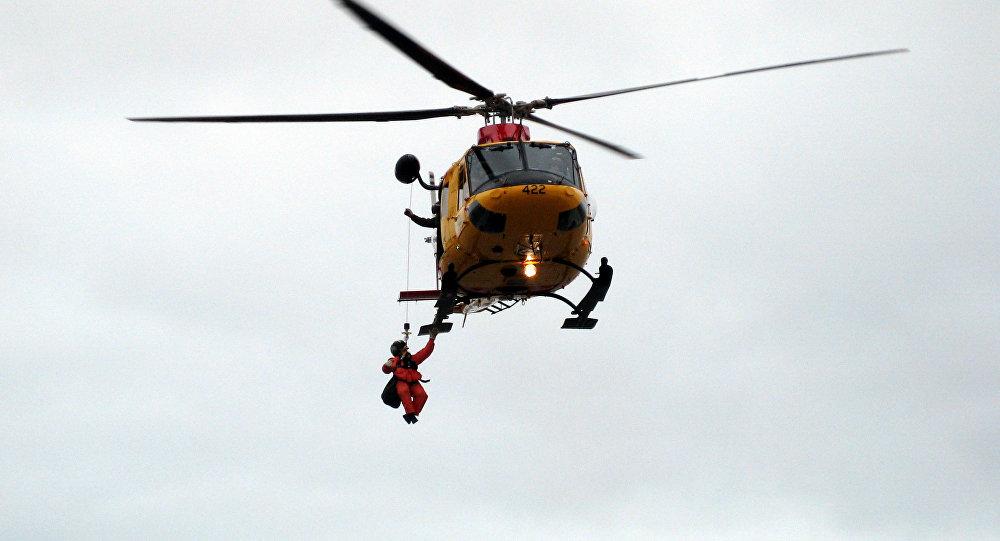 Helicóptero de resgate (imagem referencial)