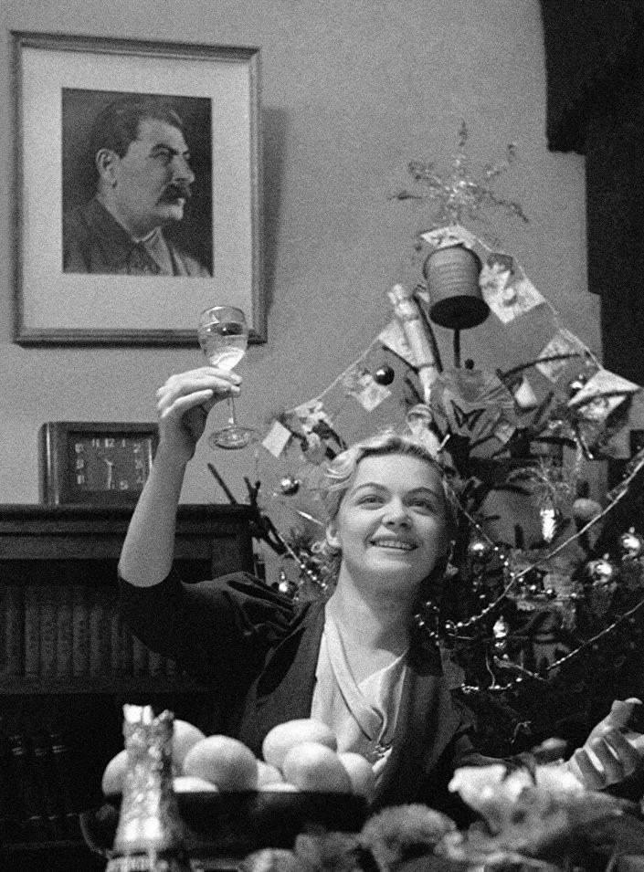 Feliz Ano Novo! Moscou, 1939
