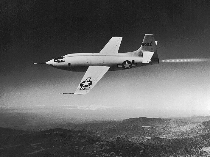 Avião estadunidense Bell X-1, foto de arquivo