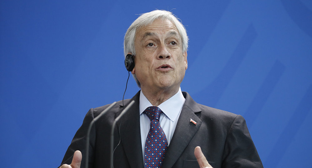 Sebastián Piñera, presidente do Chile