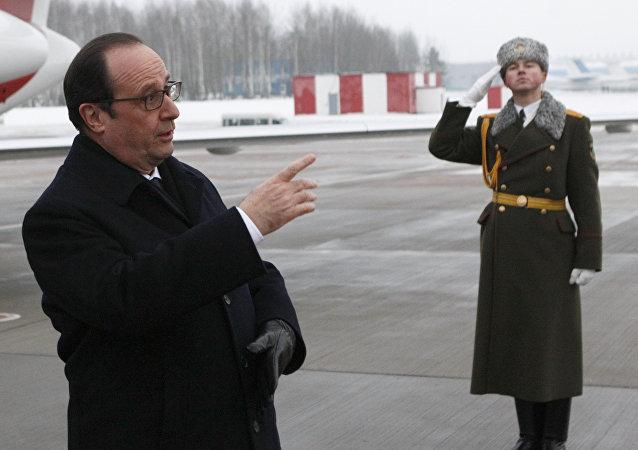 Presidente francês François Hollande