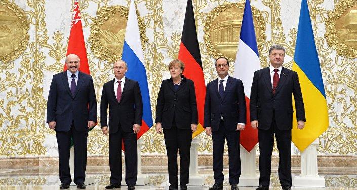 Líderes da Rússia, Alemanha, França e Ucrânia se reuniram em Minsk