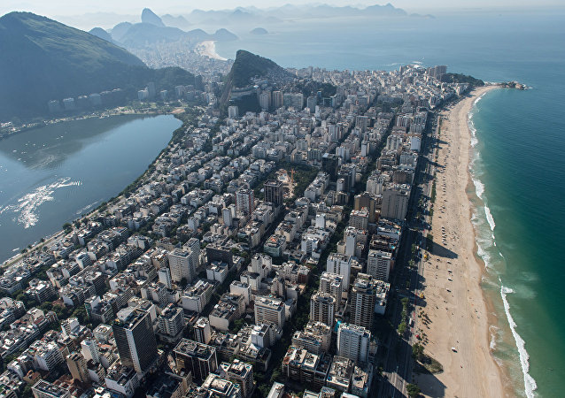Vista do Rio das praias do Rio de Janeiro