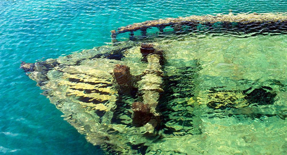 Símbolos cristãos e muçulmanos encontrados em navio naufragado há 1.300 anos em Israel (VÍDEO)