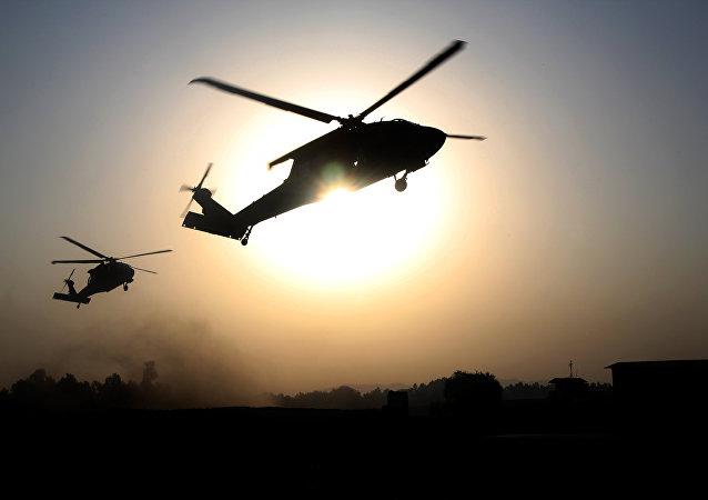 Helicópteros dos EUA (arquivo)