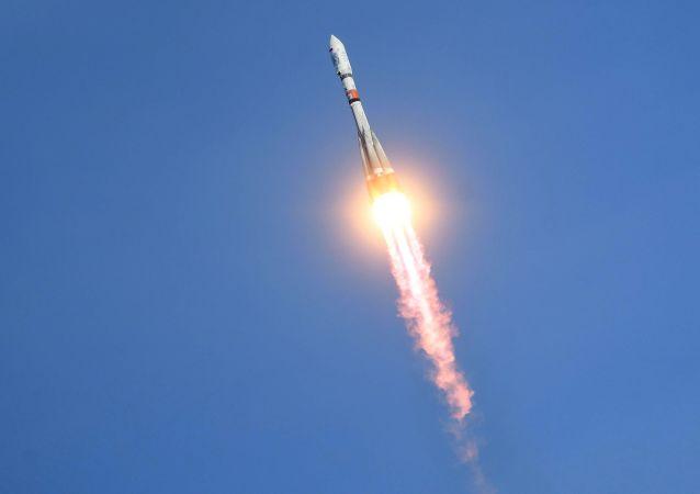 Lançamento do foguete Soyuz-2.1a do cosmódromo Vostochny