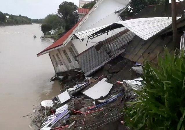 Tormenta tropical nas Filipinas