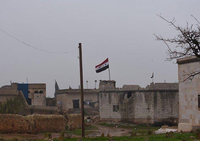 Exército sírio se instalando na área de Manbij
