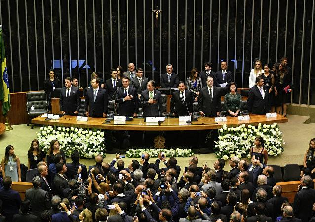 Cerimônia de tomada de posse do presidente da República eleito, Jair Bolsonaro