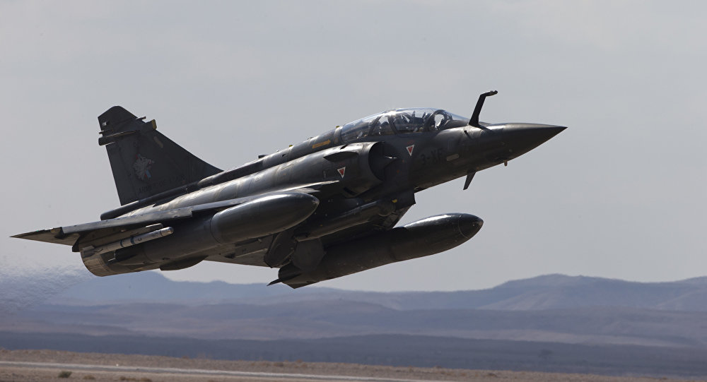 French Mirage 2000D jet fighter. (File)