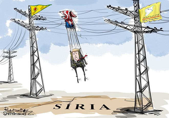 Aquela aliança que impede saída da Síria