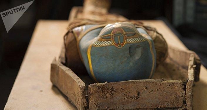 Múmia do Egito (imagem referencial)
