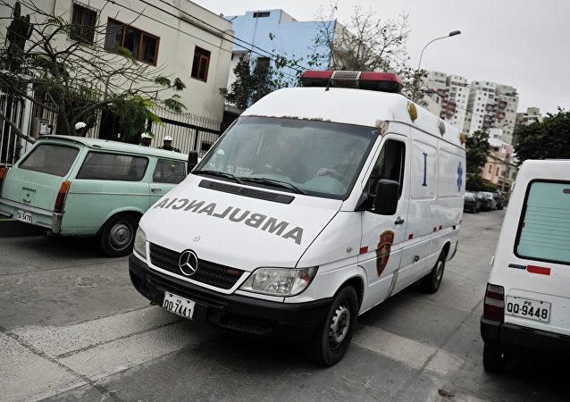 Ambulância peruana