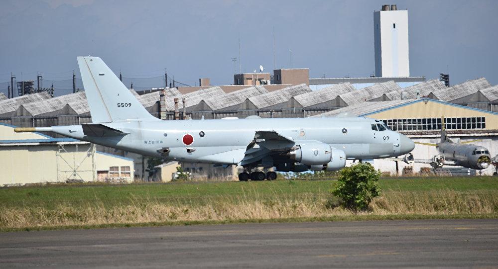 Avião de patrulha marítima japonês P-1