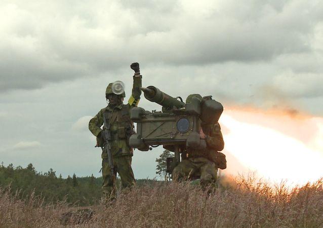Lançador de mísseis Saab RBS 70