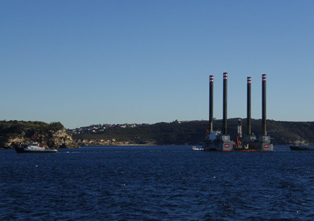 Visita a uma sonda de perfuração de dessalinização (imagem referencial)