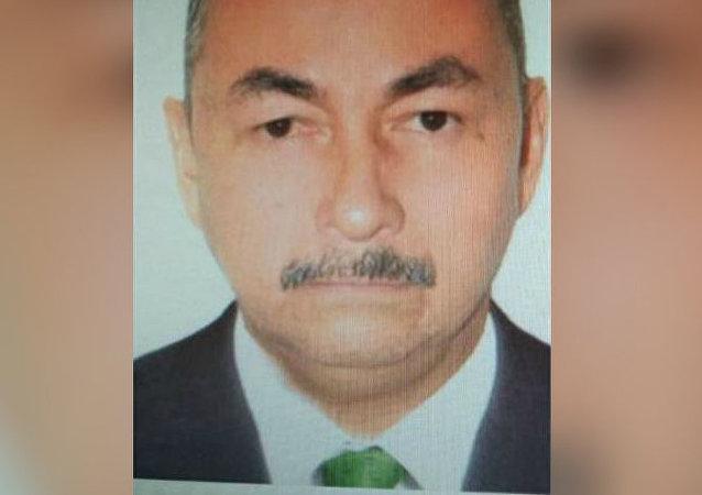 José Aldemar Rojas, autor do atentado na Academia de Polícia General Santander, em Bogotá, Colômbia
