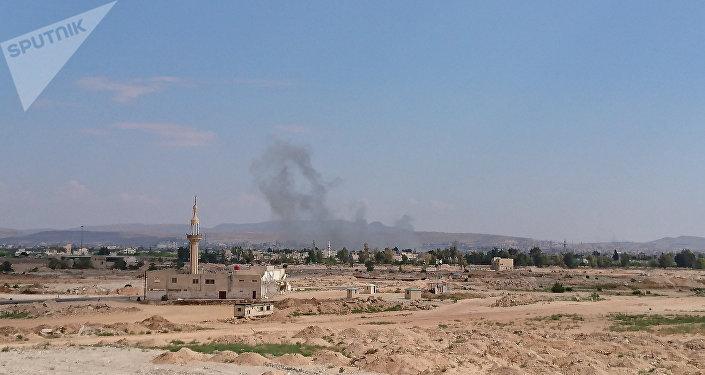 Explosão no sul de Damasco