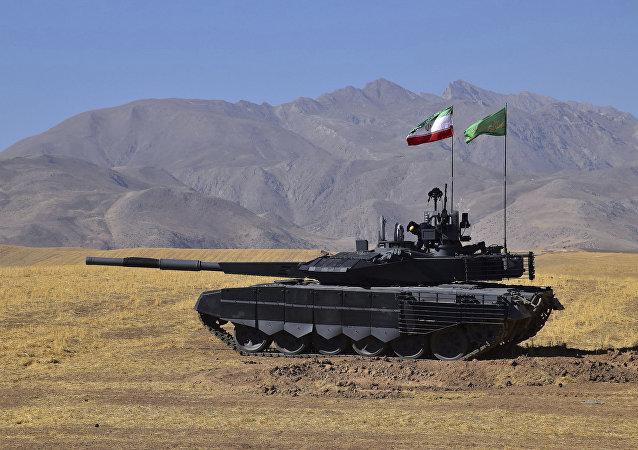 Tanque Karrar, fabricado pelo Irã