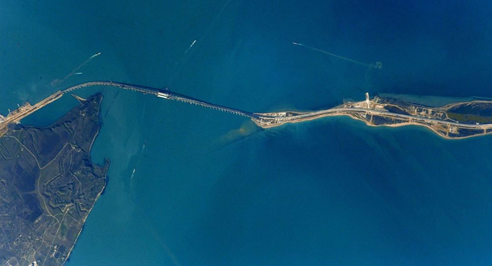 Kerch Strait, Crimea Bridge